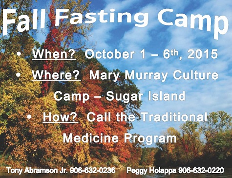Fall Fasting Camp 2015