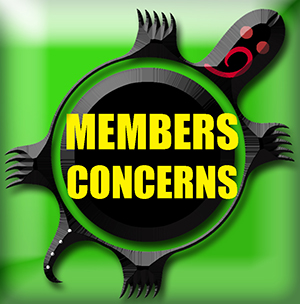 membership concern button