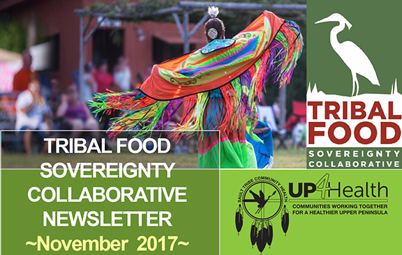 Tribal Food Sovereignty Newsletter cover