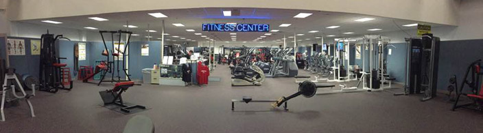 fitness entrance